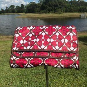 Sonia Kashuk folding hanging travel cosmetic bag